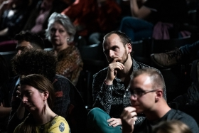 Attentive audience at the Q&A / Photo: Zoltán Adrián