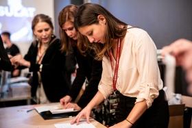 Anna Dupák guest coordinator / Photo: Balázs Ivándi-Szabó