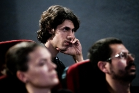 Q&A after the screening of Neighbors with director Tomislav Žaja / Photo: Zoltán Adrián