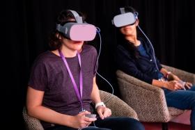 Vektor VR installation / Fotó: Varga Jennifer