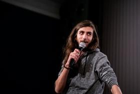Q&A after Still Recording / Photo: Balázs Ivándi-Szabó